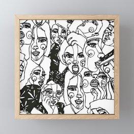 FEMININE POWER Framed Mini Art Print