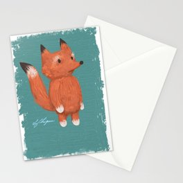 Animal Series: Little Fox Stationery Cards