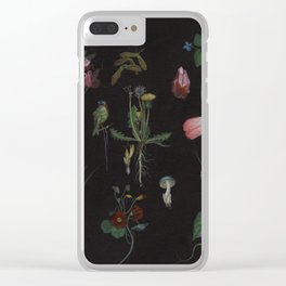 Botanical no.1 Clear iPhone Case