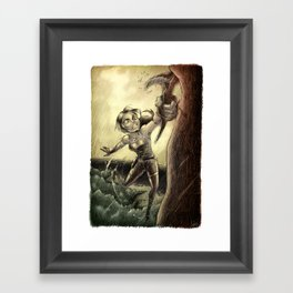 Lara Framed Art Print