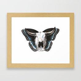 Skullerfly Framed Art Print