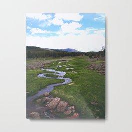 Windy Creek Metal Print