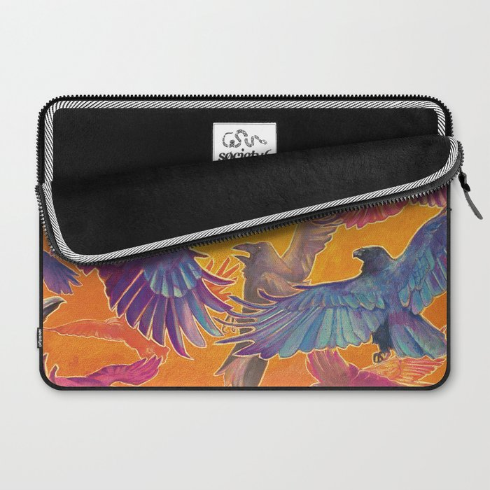 Make Way for the Raven King Laptop Sleeve