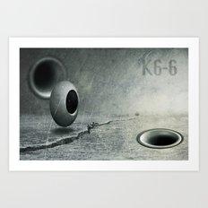 K6-6 Art Print