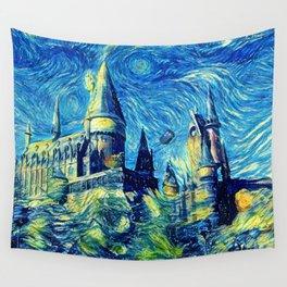 Tardis Art Starry Flying Wall Tapestry