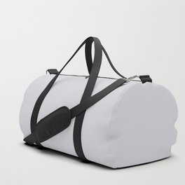 Linen Gray, Solid Collection Duffle Bag