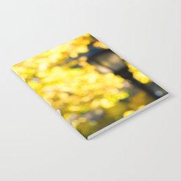 Blurry Foliage Notebook