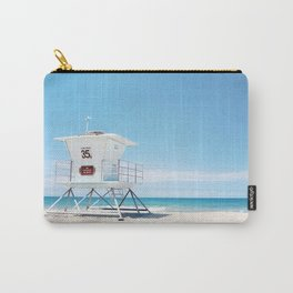 Lifeguard tower Carlsbad 35 Carry-All Pouch