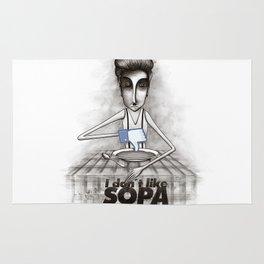 i don't like SOPA Rug