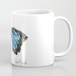 Blue Morph Butterfly Coffee Mug