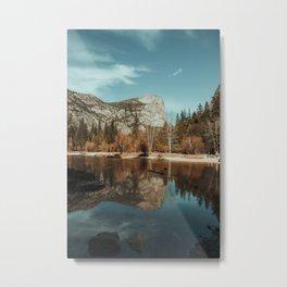 Mirror Lake in Yosemite National Park Metal Print