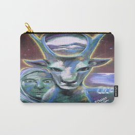 Stag of the Gateway Carry-All Pouch