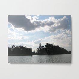 Clouds in Paris Metal Print