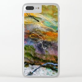 cosmic 3 Clear iPhone Case