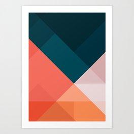 Geometric 1708 Art Print