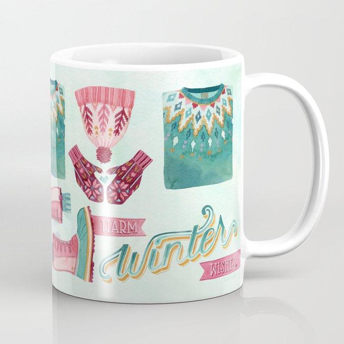 Warm Winter Wishes Coffee Mug