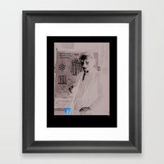Imagination > Knowledge Framed Art Print