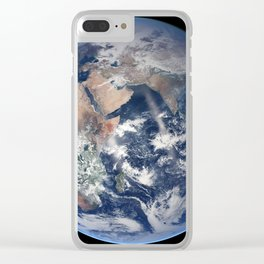 2014 NASA Blue Marble Clear iPhone Case
