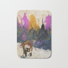 Cow on the Ranch Bath Mat
