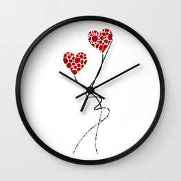 Romantic Art - You Are The One - Sharon Cummings Wall Clock