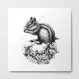 WILDFLOWERS Metal Print