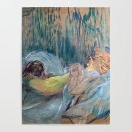 Henri de Toulouse-Lautrec / Maison de la rue des Moulins / 1894 Poster
