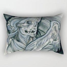 Angelus Mortus Rectangular Pillow