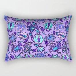 Protea Batik Hawaiian Tropical Floral Rectangular Pillow