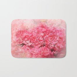 Pink bloom Bath Mat