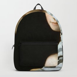 Johannes Vermeer - Portrait of a Young Woman Backpack