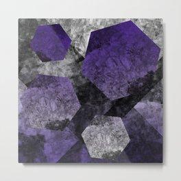 flatland (purple) Metal Print