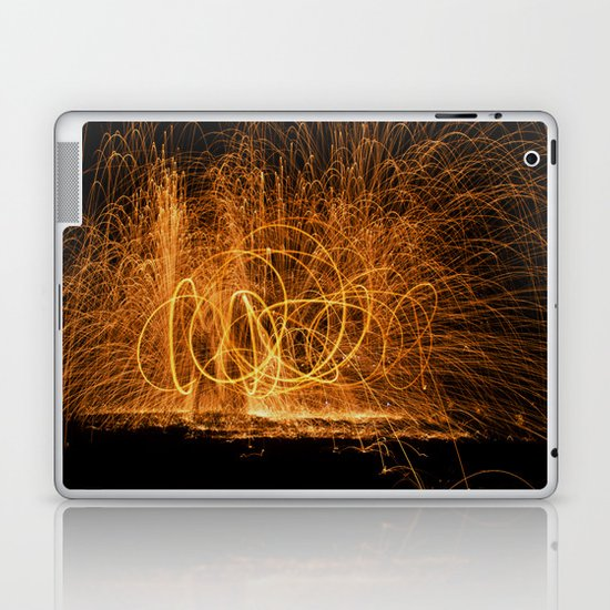 Home made fireworks Laptop & iPad Skin