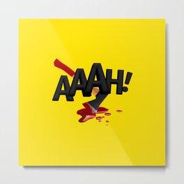ONMTP - BIG AAAH! Metal Print