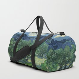 Olive Trees by Vincent van Gogh Duffle Bag