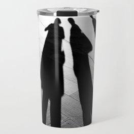 Venetian Shadows Noir Travel Mug