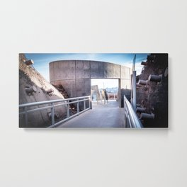Tillman in Concrete Metal Print