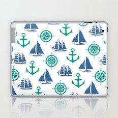 Nautical Pattern Laptop & iPad Skin