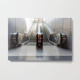 escalator Metal Print
