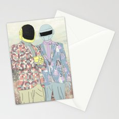 Daft Punk. Stationery Cards