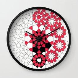 Pentagonal Rosett Wall Clock