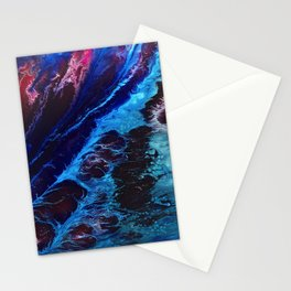 Cosmic Waves Stationery Cards