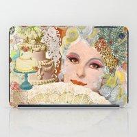 marie antoinette iPad Cases featuring Marie Antoinette by Jenndalyn