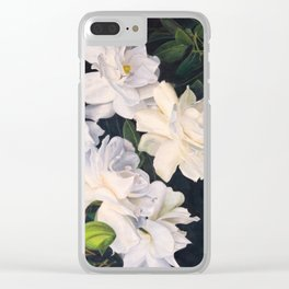 Fifty Shades of Grey - Gardenias Clear iPhone Case