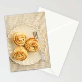 Fresh baked cruffins Stationery Cards