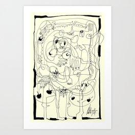 The First Art Print