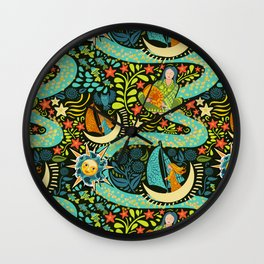 River of Stars Wall Clock