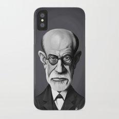 Sigmund Freud iPhone X Slim Case