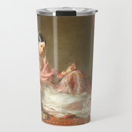 Muslim Lady Reclining - Renaldi Travel Mug
