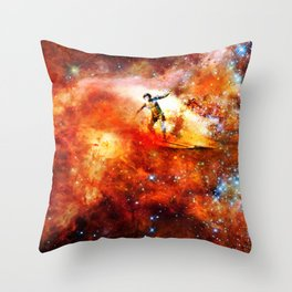 George and Gary Gacrux Throw Pillow