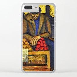 Barbara Stevenson - Apple Vendor Clear iPhone Case